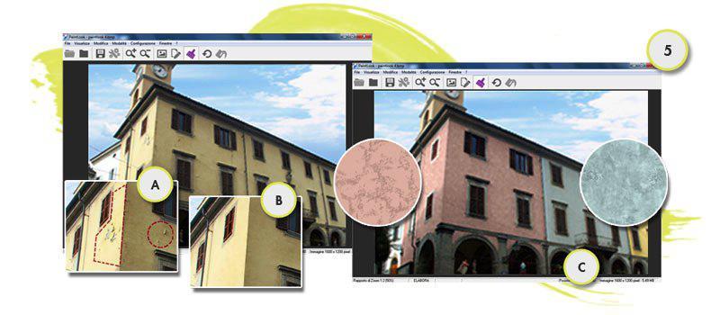 Fai sognare il tuo cliente con il colore della sua facciata blog specialista decoratore - Colorare casa esterno ...